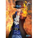 One Piece Puzzle Sabo 300 pieces dimension 26x38cm Ensky
