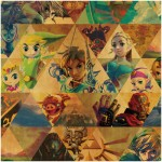 The Legend of Zelda Breath of the Wild Hand Towel Ensky