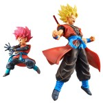 DXF Super Dragon Ball Heroes Set of SSJ Son Gokou Xeno and Beat SSJ God 7th Anniversary Vol.1 Banpresto