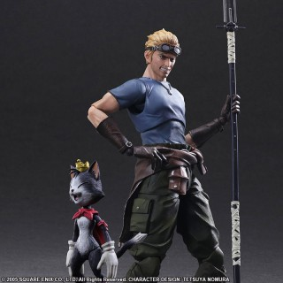 Play Arts Kai FINAL FANTASY VII ADVENT CHILDREN Cid Highwing & Cait Sith Square Enix