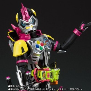 SH S.H. Figuarts Kamen Rider Ex-Aid Lazer Turbo Bike Gamer Level 0 Bandai Limited