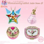 Sailor Moon Miniaturely Tablet Part.9 Pack of 10 (CANDY TOY) Bandai