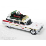 Ghostbusters 1959 ECTO-1A Cadillac Ambulance 1/64 Johnny Lightning