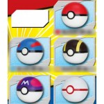 Pokemon PuniPuni Pokeball Pack of 10 (CANDY TOY) Takara Tomy