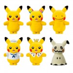 Pokemon Pokemo-fudoll Pack of 10 (CANDY TOY) Bandai