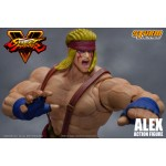 Street Fighter V Action Figure Alex Storm Collectibles