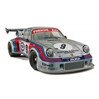 Real Sports Car No.99 Porsche 911 Carrera RSR Turbo Watkins Glen 1974 No.9 Plastic Model 1/24 Fujimi