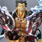 One Piece Archive Collection Monkey D. Luffy Gear 4 Leo Bazooka Ver. Plex Limited