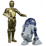 Star Wars Plastic Model Kit 1/12 C-3PO & R2-D2 The Last Jedi Bandai