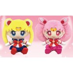 Sailor Moon NuiMas Pair Set (Sailor Moon & Sailor Chibi Moon) Bandai