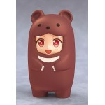 Nendoroid More Kigurumi Face Parts Case (Brown Bear) Good Smile Company