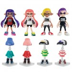 Splatoon 2 Kisekae Gear Collection Part.2 BOX of 8 Bandai