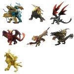 Capcom Figure Builder Monster Hunter Standard Model Plus Ikari Ver.2 box of 6 Capcom