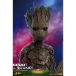 Movie Masterpiece Avengers Infinity War Groot 1/6 Hot Toys