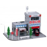 (T8E6B) Tomica Town fire department Tomy TAKARA