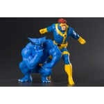 ARTFX Plus MARVEL UNIVERSE Cyclops & Beast pack of two 1/10 Kotobukiya
