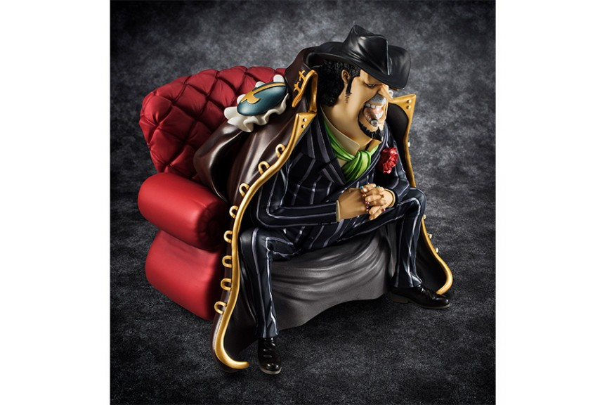 Megahouse One Piece Portrait of Pirates Sitting on Chairs Capone Gang Bege