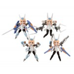 Desktop Army Frame Arms Girl KT-240f Baselard Series box of 4 MegaHouse
