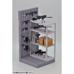 Little Armory Gun Rack D 1/12 Model kit Takara Tomy