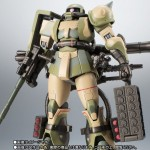 Robot Damashii (side MS) Mobile Suit Gundam MS-06J Zaku II Wetland Type Ver. A.N.I.M.E. Bandai Limited
