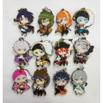 Idolish7 New Illustration Ver. Idol Costume Trading Rubber Strap Box of 12 Matsumoto Shoji