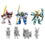 VA Super Granzort, Super Aqua Beat, Super Windzort Set of 3 figure Metallic Ver. MegaHouse