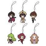 Code Geass Lelouch of the Rebellion Movie Rubber Strap Collection Box of 6 Movic