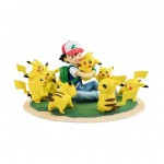 G.E.M Series Pocket Monsters Satoshi Pikachu (Pikachu ga Ippai ver.) with bonus Female Pikachu Megahouse Limited Ed.