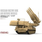 Russian Air Defense Missile 9K37M1 Buk Plastic Model 1/35 MENG Model
