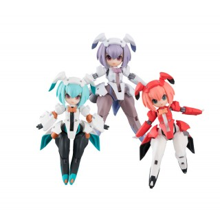 Desktop Army F-606s Flare Nabbit Sisters Box of 3 MegaHouse