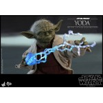 Movie Masterpiece Star Wars Attack of the Clones Yoda 1/6 Hot Toys