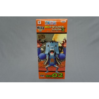 (T5E5) One piece mega WCF Franky MG 02 halloween craneking banpresto