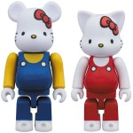 Hello Kitty x BEARBRICK x NYABRICK Hello Kitty Set Medicom Toy