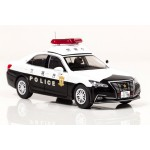 Toyota Crown Royal GRS210 2016 Metropolitan Police Department Police Station Jurisdiction Area Patrol Car 1/43 RAI'S