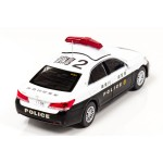 Toyota Crown Royal GRS210 2016 Kanagawa Prefecture Police Department Police Station Jurisdiction Area Patrol Car 1/43 RAI'S