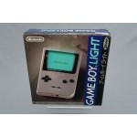 (T4E2) Nintendo game boy light silver argent MGB-101 Japanese version