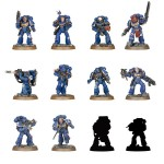 Warhammer 40,000 Space Marine Heroes Series 1 BOX of 24 Max Factory