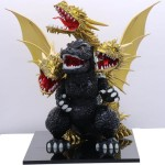 Chibimaru Godzilla Series SPOT No.4 Chibimaru Godzilla VS King Ghidorah Battle Set Plastic Model kit Fujimi