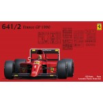 Grand Prix Series No.26 Ferrari 641/2 Mexican Grand Prix Grand Prix de France Plastic Model Kit 1/20 Fujimi