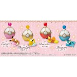 Pokemon Eevee Friends Dreaming Case BOX of 4 RE-MENT