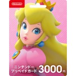 Nintendo eShop Gift Card 3000 YEN (For Japan Account) Nintendo