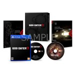 PS4 GOD EATER 3 First Press Limited Edition Bandai Namco