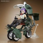 Figure rise Mechanics Bulma Transformable No.19 Bike Plastic Model Kit Dragon Ball BANDAI SPIRITS