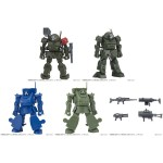 Gasha Pla Armored Trooper Votoms 02 BOX Of 10 Bandai