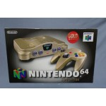 (T25E15) Nintendo 64 Gold Model Japanese Edition complete in box good condition