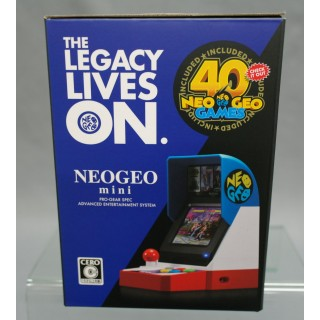 SNK NEO GEO 40th Anniversary Mini Classic Arcade (40 Games included) Japan  version NEW - MyKombini