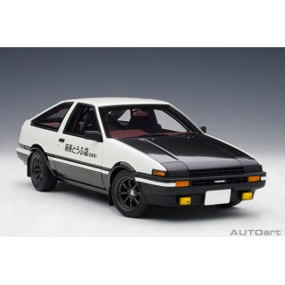 Toyota Spritner Trueno (AE86) Initial D (Project D) Final Version 1/18 Autoart