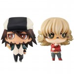 Chimi Mega Bady Series No.002 TIGER And BUNNY Kotetsu And Barnaby Set MegaHouse