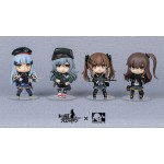 Girls' Frontline 404 Squad Official 4 Figure Set Ring Toys