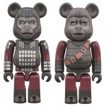 BEARBRICK GENERAL URSUS And SOLDIER APE 2PACK PLANET OF THE APES Medicom Toy